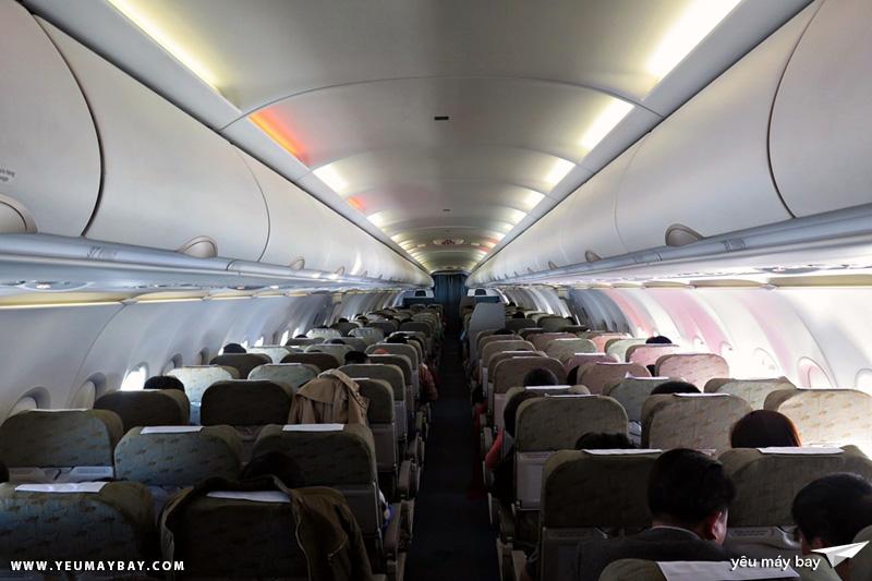 Toàn cảnh cabin hành khách