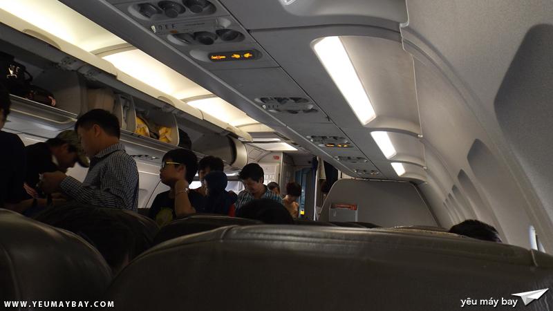 Bên trong cabin chiếc VN-A555 - Ảnh: Tuấn Đỗ