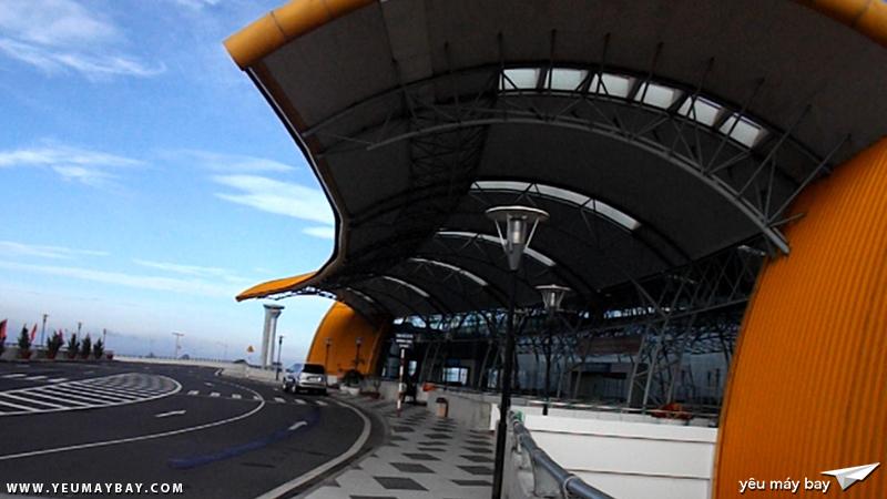 Nhà ga sân bay Liên Khương buổi sáng sớm - Ảnh: Tuấn Đỗ