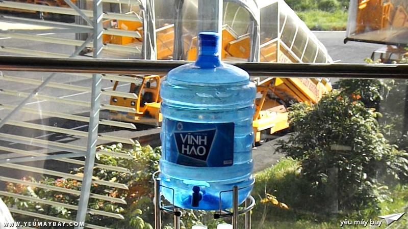 Nước uống miễn phí - Ảnh: Tuấn Đỗ