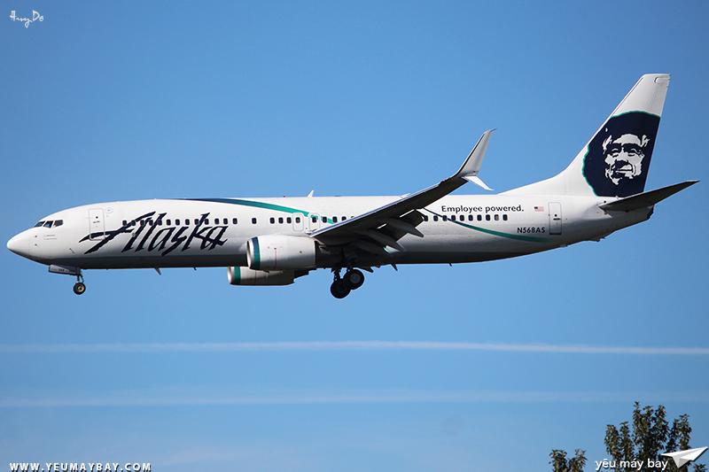 Chiếc máy bay được nhân viên của Alaska săn đuổi để chụp hình nhiều nhất.