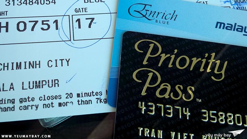 Thẻ Priority Pass cho phép bạn vào phòng chờ sang trọng bất kể đi với hạng vé gì và hãng hàng không nào. Ảnh: TRAVIP