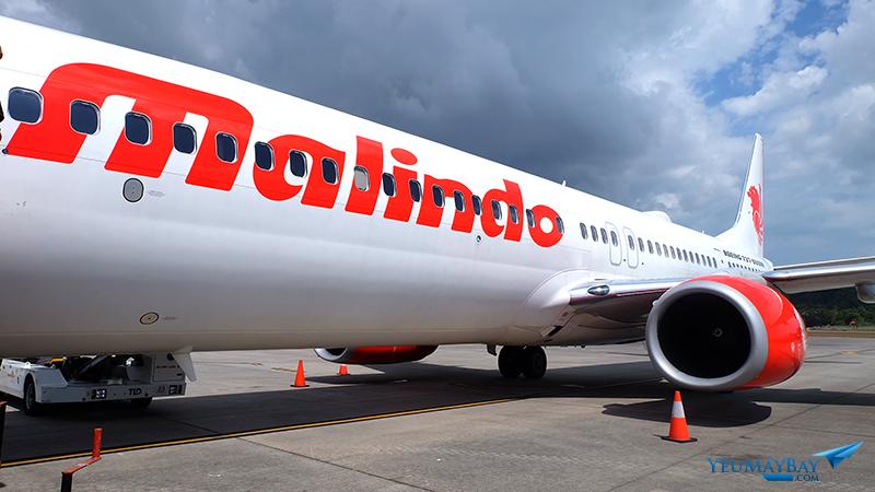 Chiếc Boeing 737-900ER của Malindo Air. Ảnh: Travip