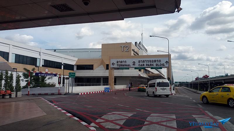 Sảnh đi sân bay Don Muang - Ảnh: Tuấn Đỗ