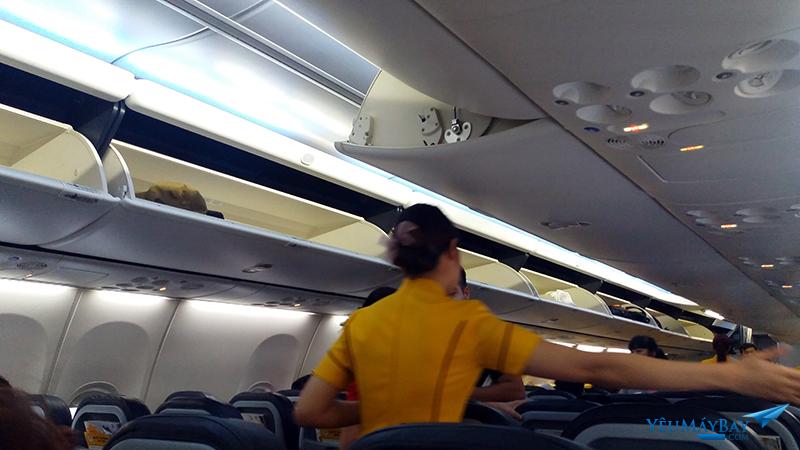 Bên trong cabin tàu bay - ảnh: Tuấn Đỗ