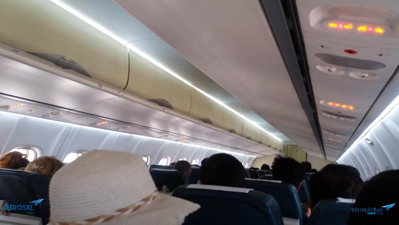 Bên trong cabin VN-B219 - Ảnh: Tuấn Đỗ