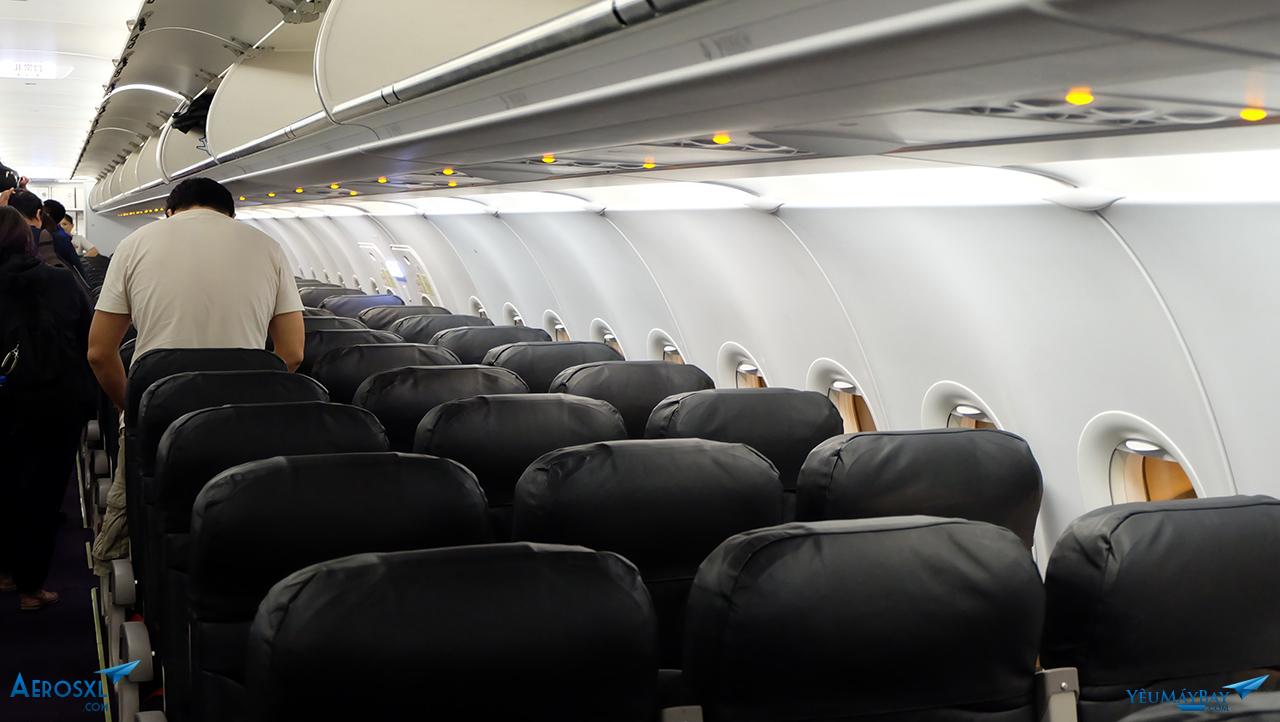 Máy bay Airbus A320 của Vanilla Air có 180 ghế. Ảnh; TRavip