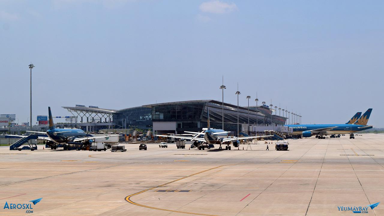 Nhà ga quốc tế T2. Ảnh: Dũng Nguyễn