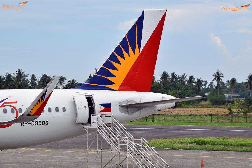 Chiếc A321 của Phillipine Airlines vừa hạ cánh từ Seoul Incheon. Đây sẽ là chiếc máy bay sẽ đưa mình về lại Manila. Ảnh: Dũng Nguyễn