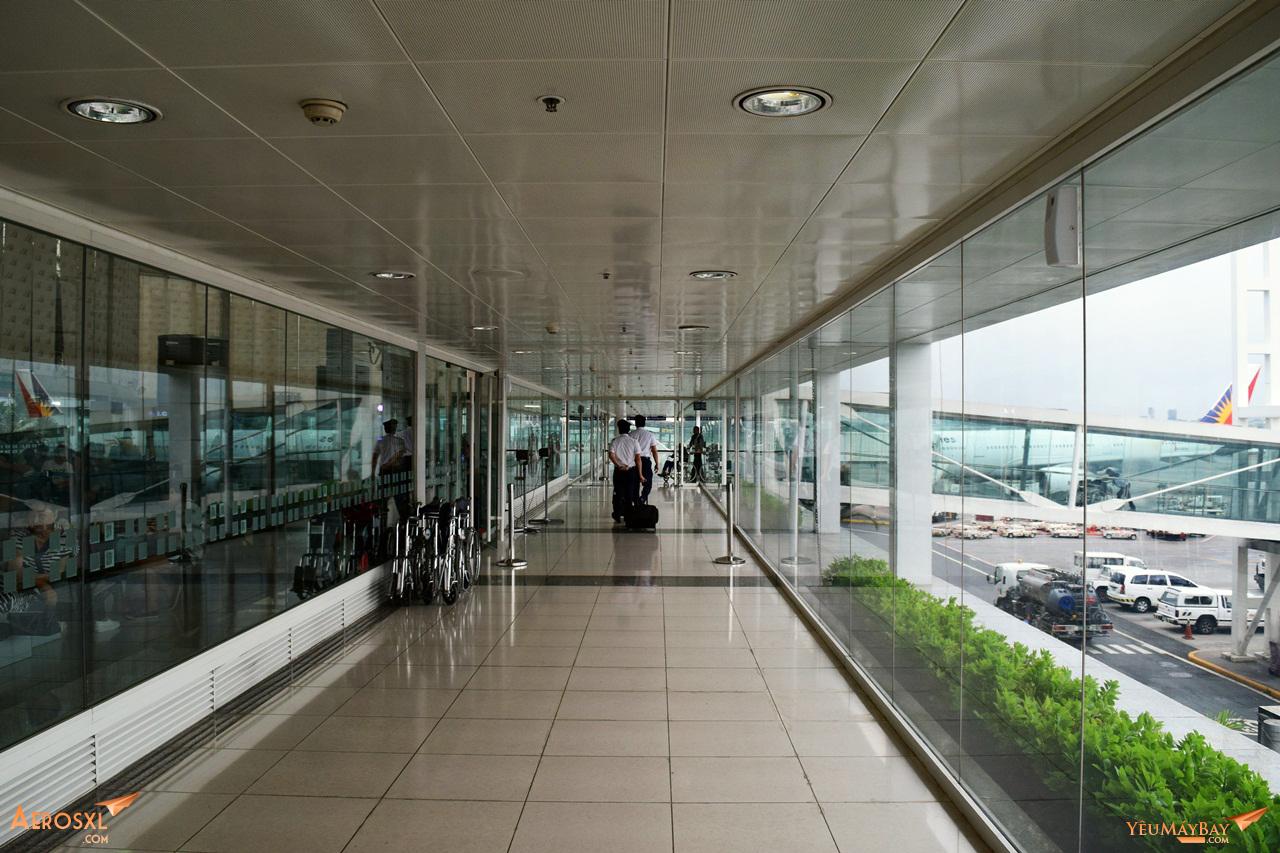 Chào mừng đến với nhà ga số 2, sân bay quốc tế Manila. Ảnh: Dũng Nguyễn