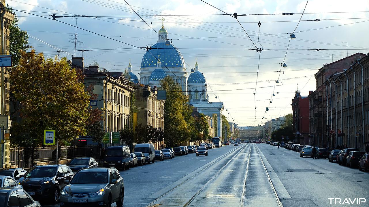 St. Petersburg trong nắng thu. Ảnh: Travip