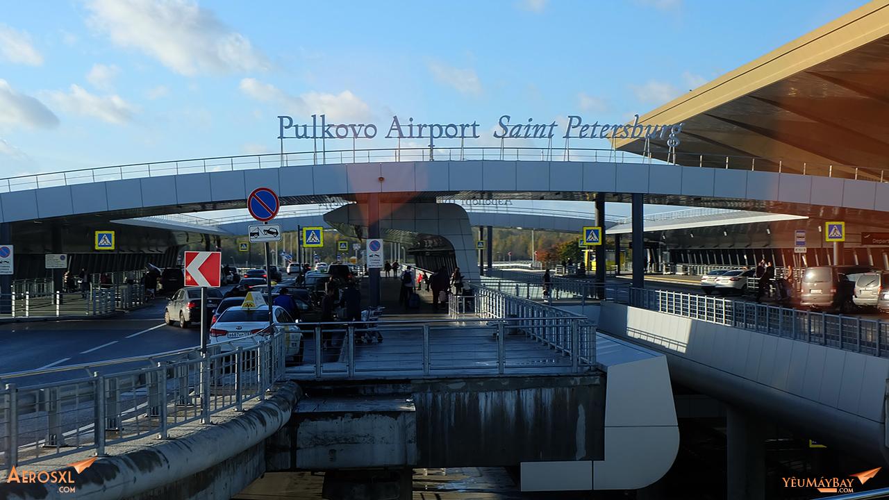 Sân bay Pulkovo. Ảnh: Travip