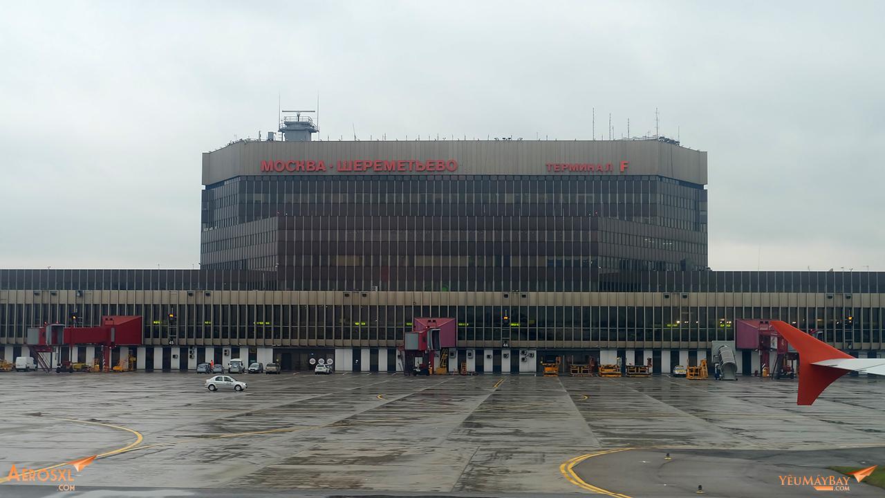 Sân bay SVO. Ảnh: Travip