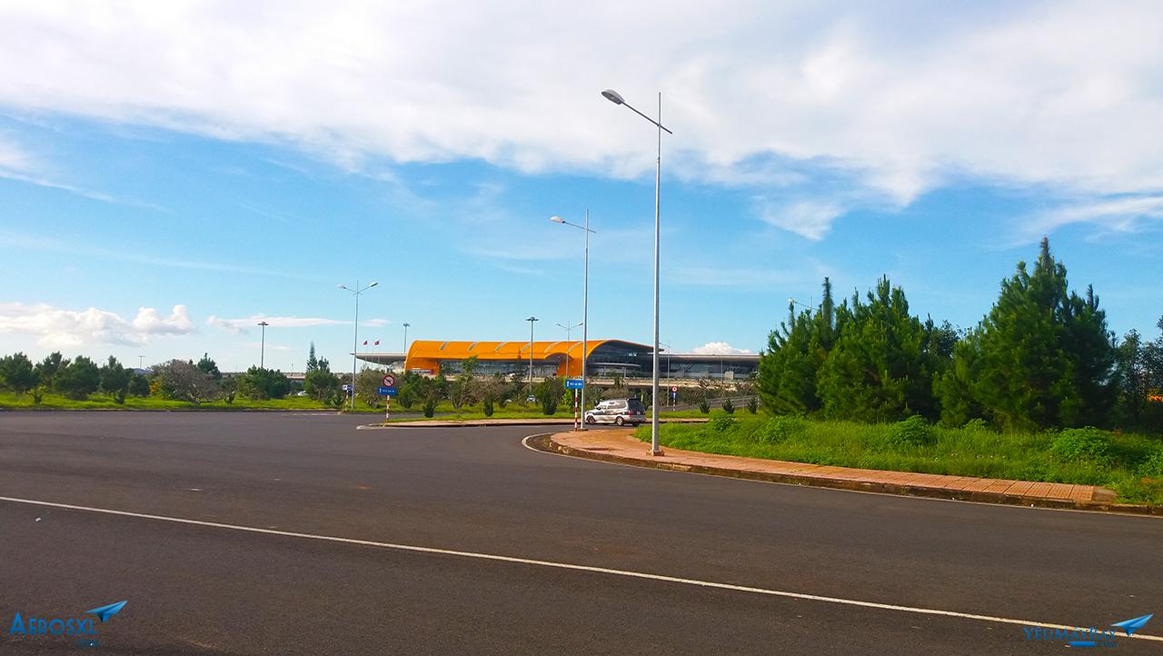 Nhà ga sân bay Liên Khương - Ảnh: Tuấn Đỗ