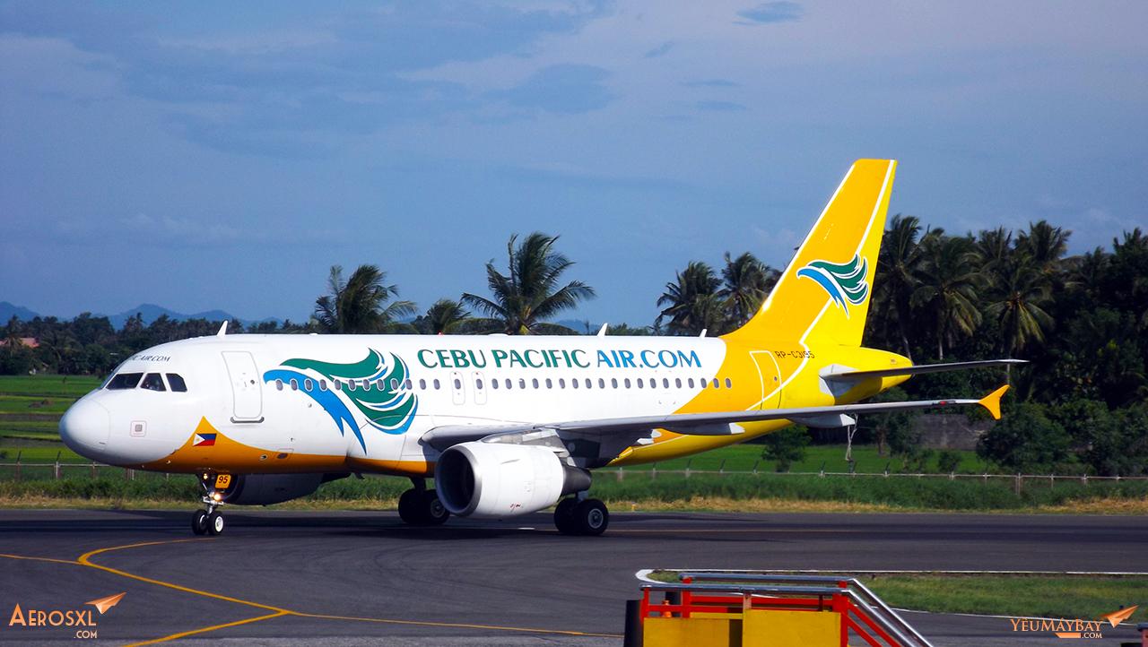 RP-C3915, tàu bay 319 duy nhất trong đội bay Cebu Pacific - Ảnh: Tuấn Đỗ
