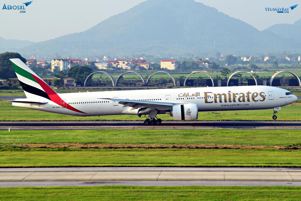 Full livery của Emirates - Ảnh: Việt Dũng