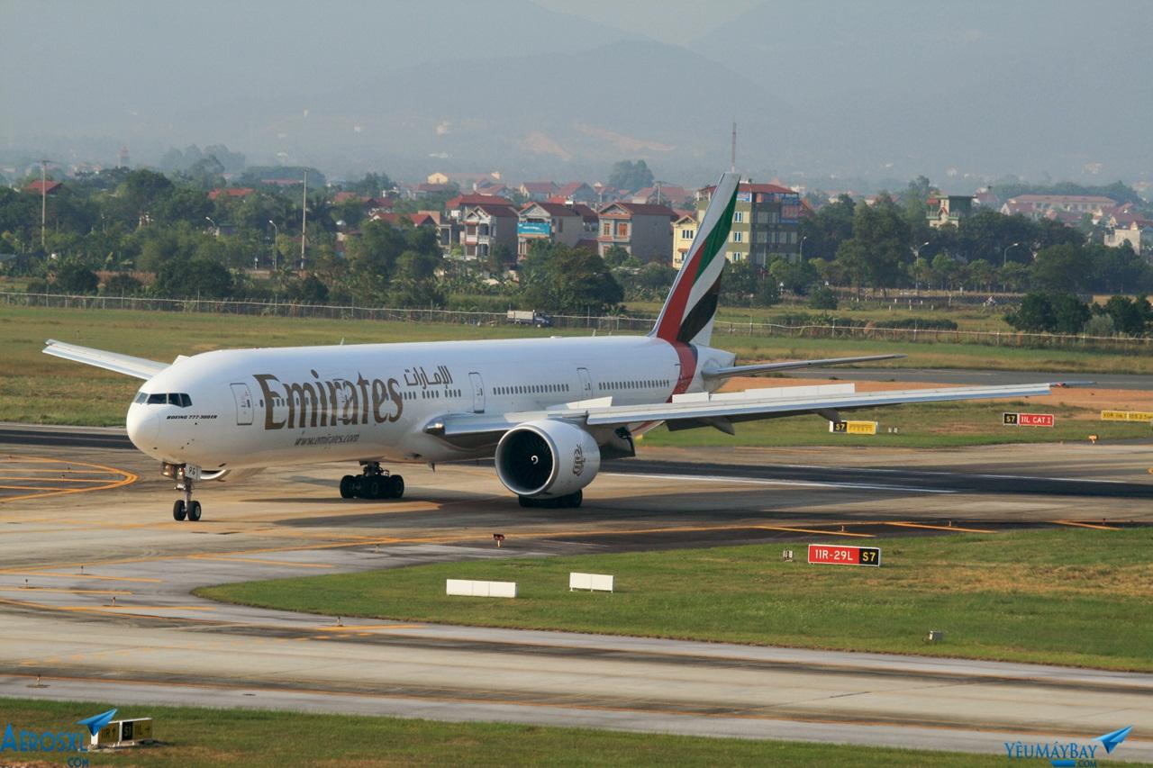 Boeing 777-300ER, 'lao động chính' cho toàn đội bay của Emirates - Ảnh: Kevin Trần