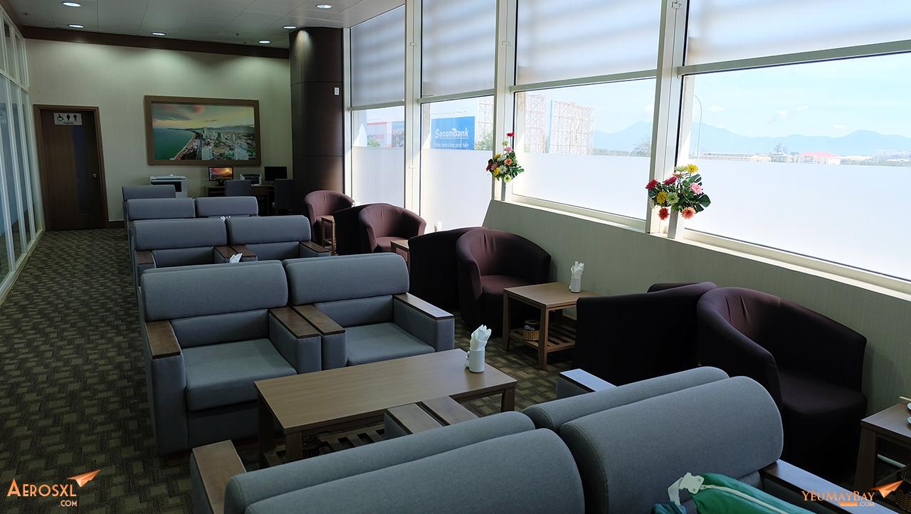 Phòng chờ Lotus sân bay Cam Ranh. Ảnh: Travip