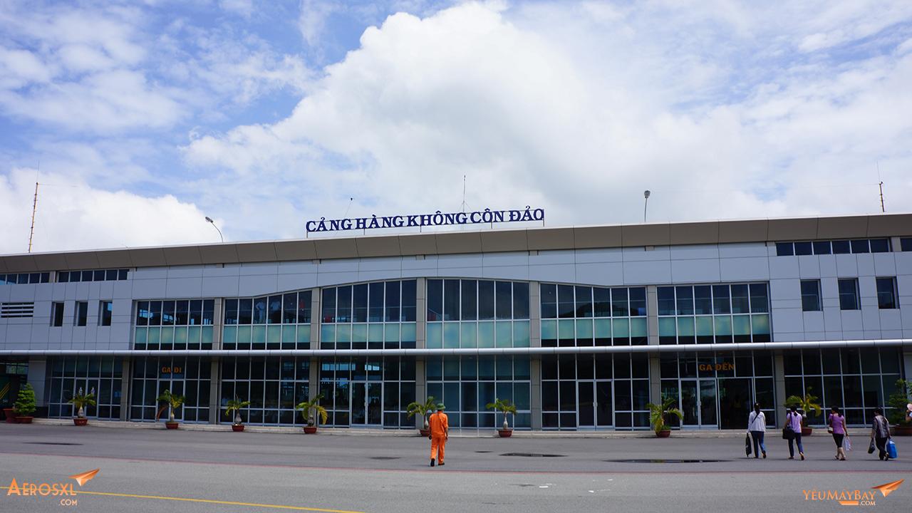 Sân bay Côn Đảo. Ảnh: Travip
