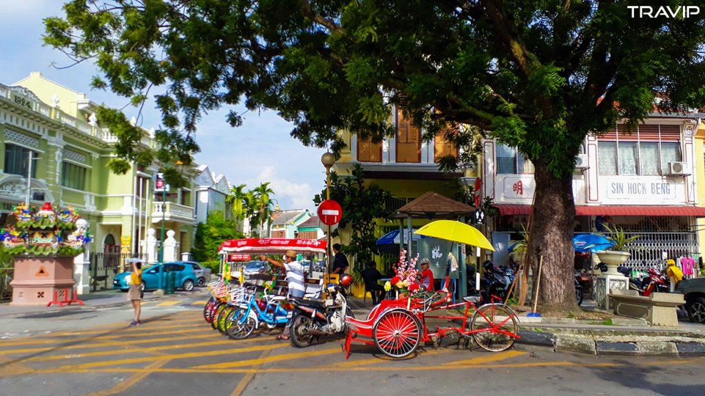 Penang một ngày cuối tháng 11-2016. Ảnh: Travip
