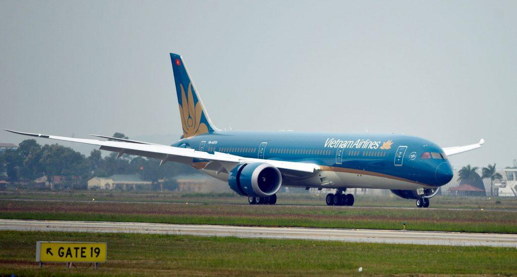 VN-A870 tại Nội Bài. Ảnh: Vietnam Airlines