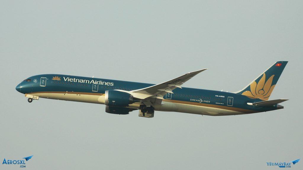 VN-A868 sải cánh. Ảnh: Kevin Trần.